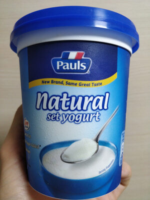 Natural set yogurt - Produit - en