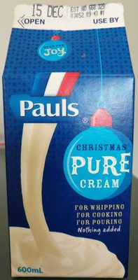 Pauls Pure Cream - Product