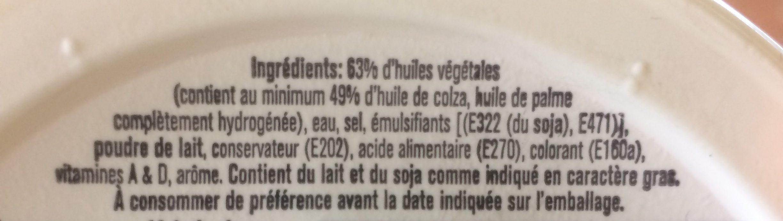 Meadowlea Original Canola Butter - Ingrédients - fr