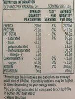 Olive Grove - Nutrition facts - en