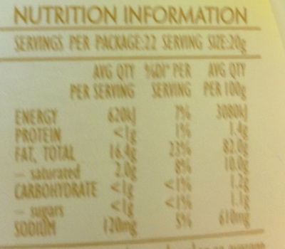 Real Whole Egg Mayonnaise - Nutrition facts - en