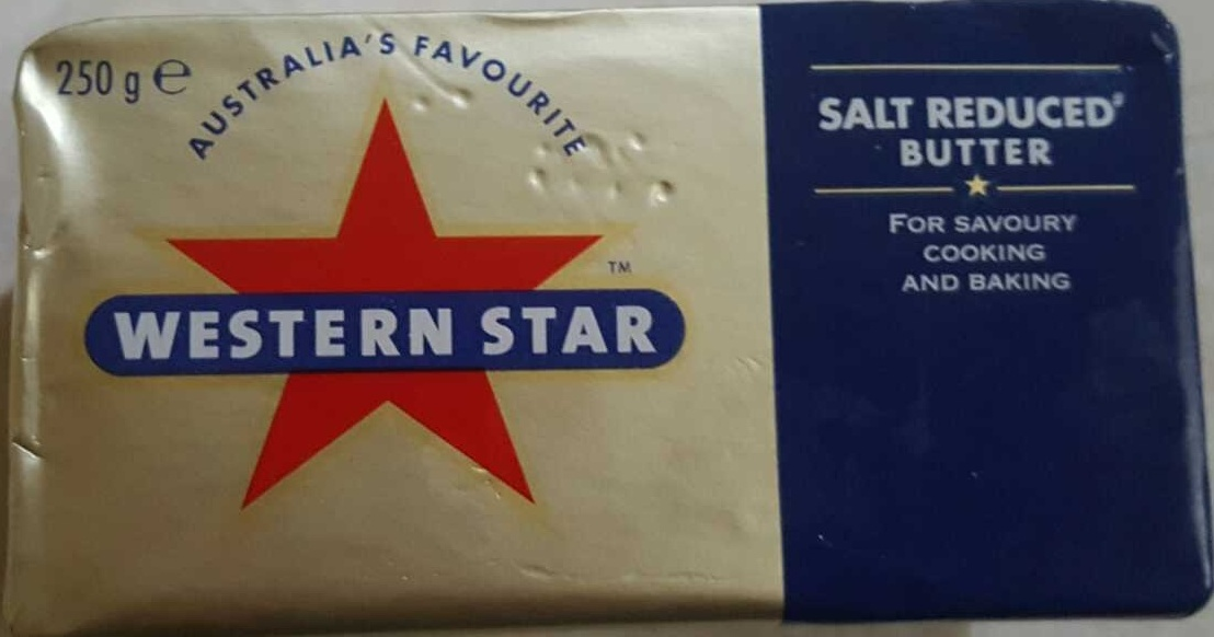 Western Star Salt Reduced Butter - Product