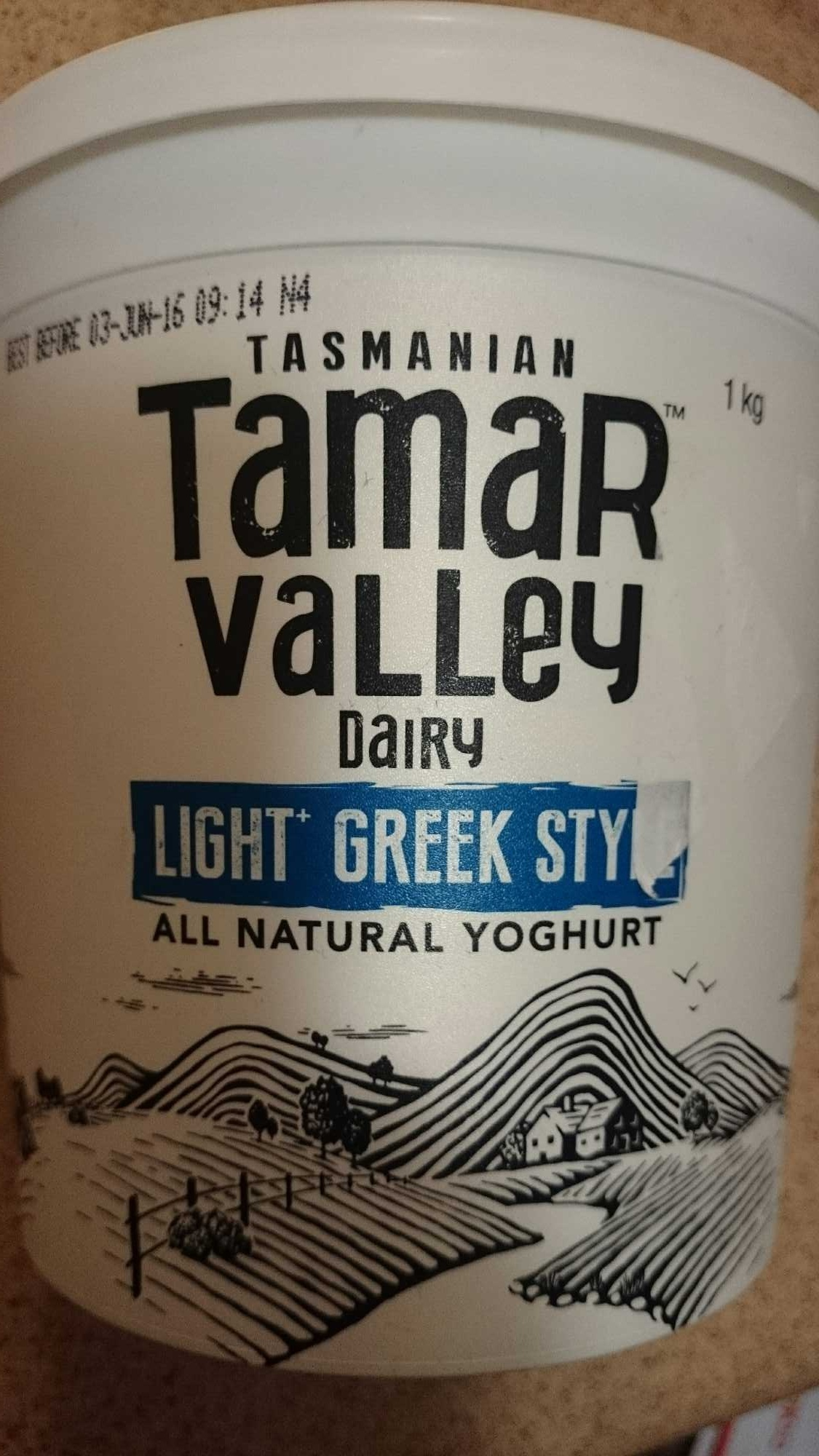 Light Greek Style All Natural Yoghurt - Product - en