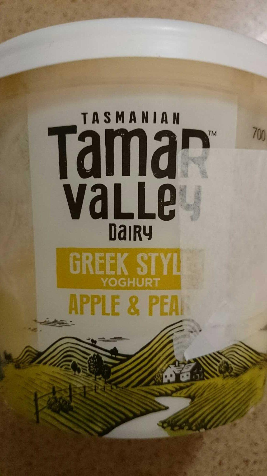 Greek style yogurt apple & pear - Product - en