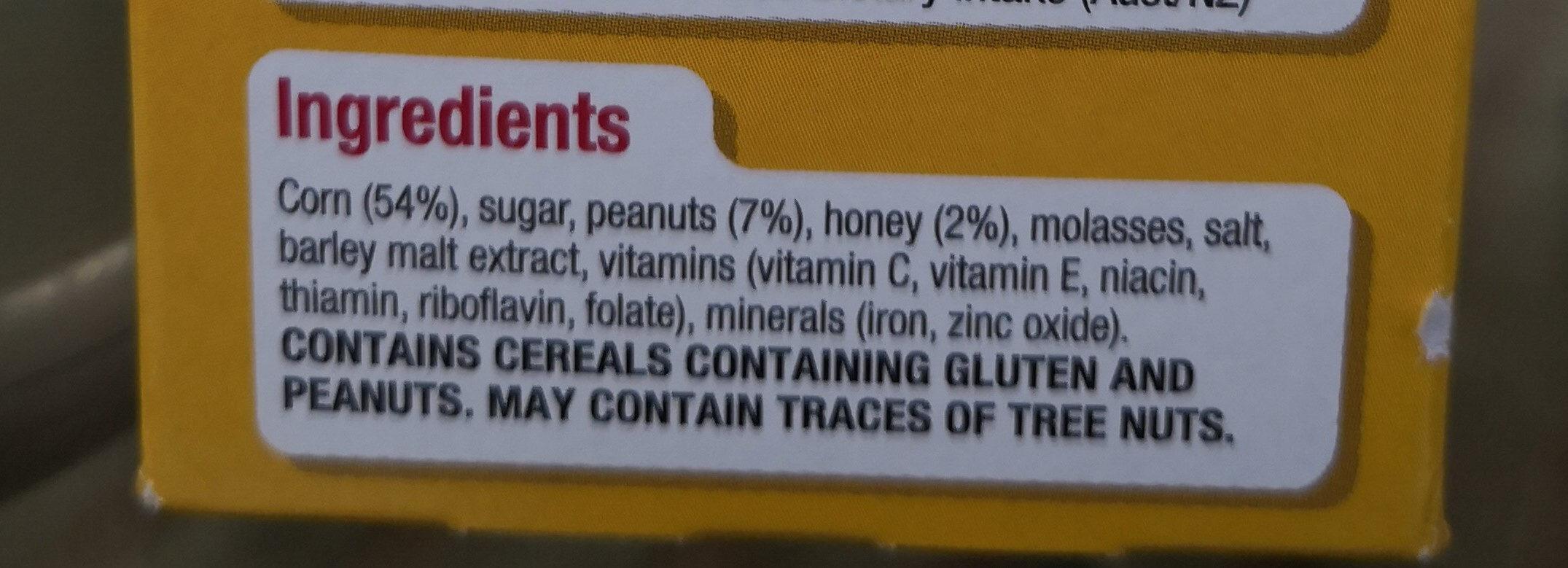 Kellogg's Crunchy Nut Corn Flakes 670G - Ingredients - en