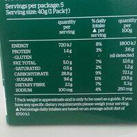 kelloggs gluten free date and apple breakfast biscuits - Ingredients - en