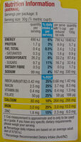 Coco Pops - Nutrition facts - en