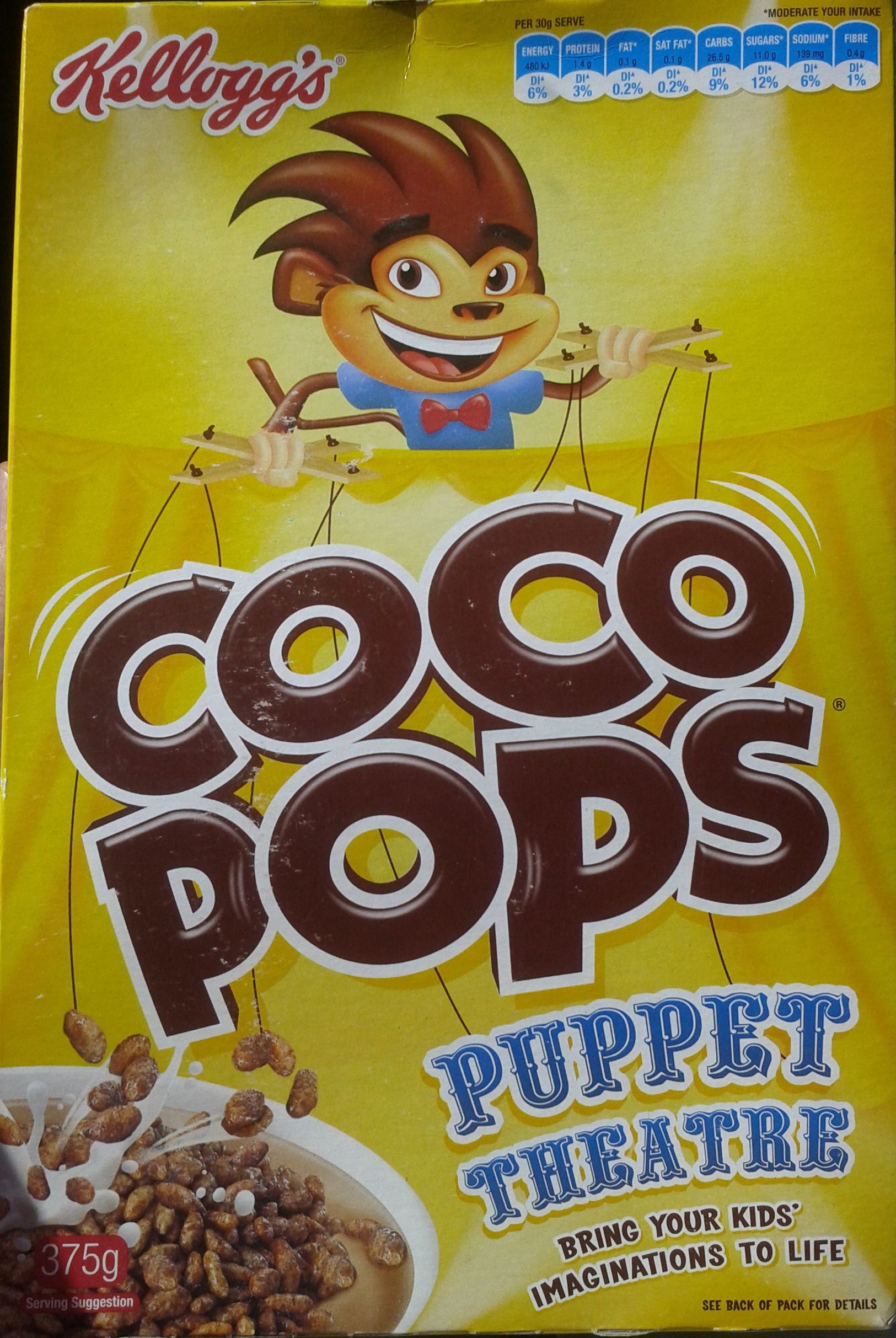 Coco Pops - Kellogg's - 375G - Product - fr