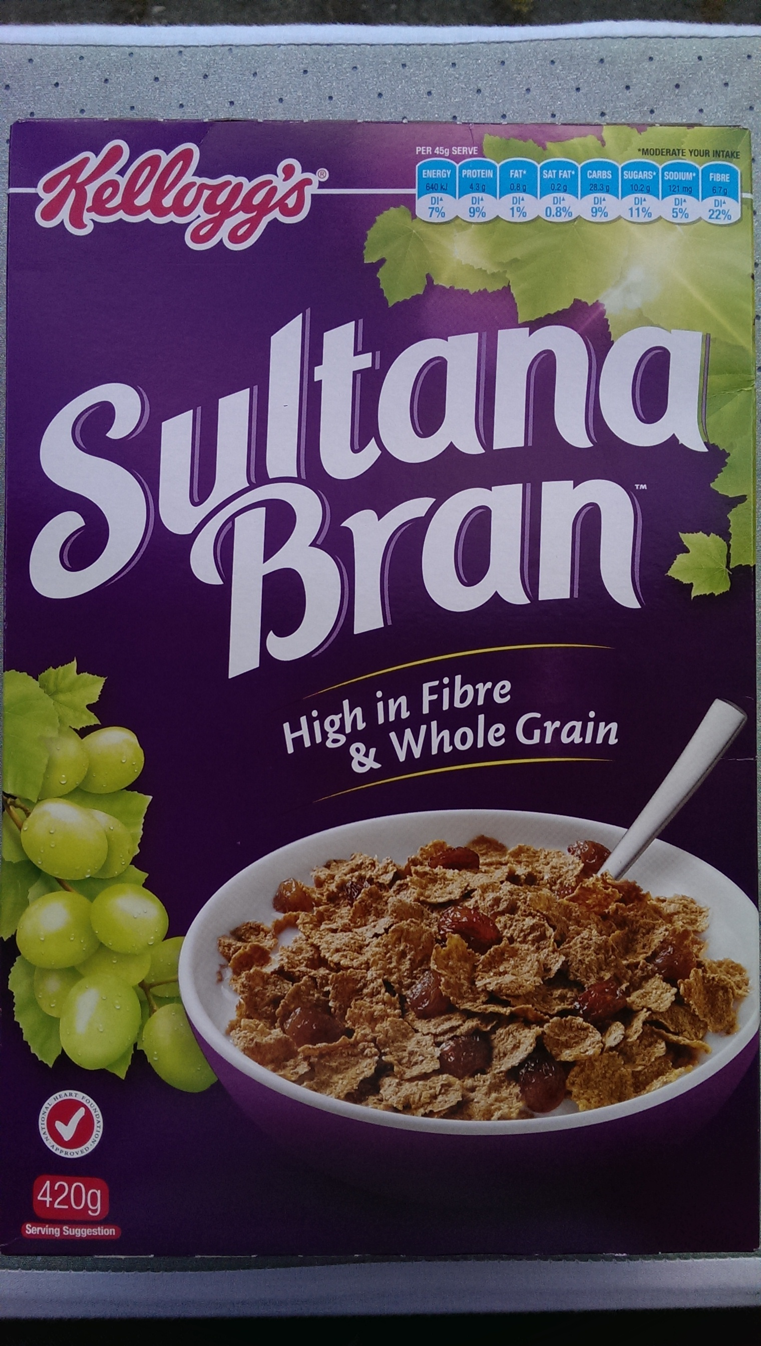 Kellog's Sultana Bran - Product - en