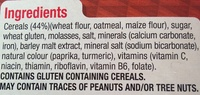 Nutri-Grain - Ingrediënten