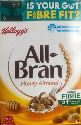 All bran honey almond - Product - en