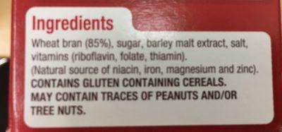 All-Bran Original - Ingredients - en