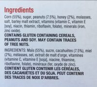 Crunchy nut corn flakes - Ingredients