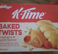 k-time baked twist raspberry and apple flavour - Product - en