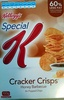 Special K Cracker Crisps Honey Barbeque - Product
