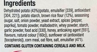 Special K Cracker Crisps Honey Barbeque - Ingredients