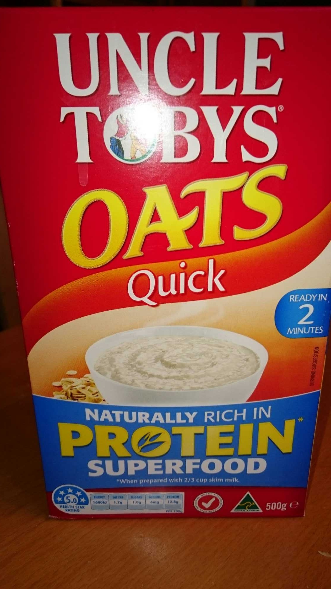 Oats quick - Product