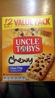 chewy choc chip 12 bar value pack - Product