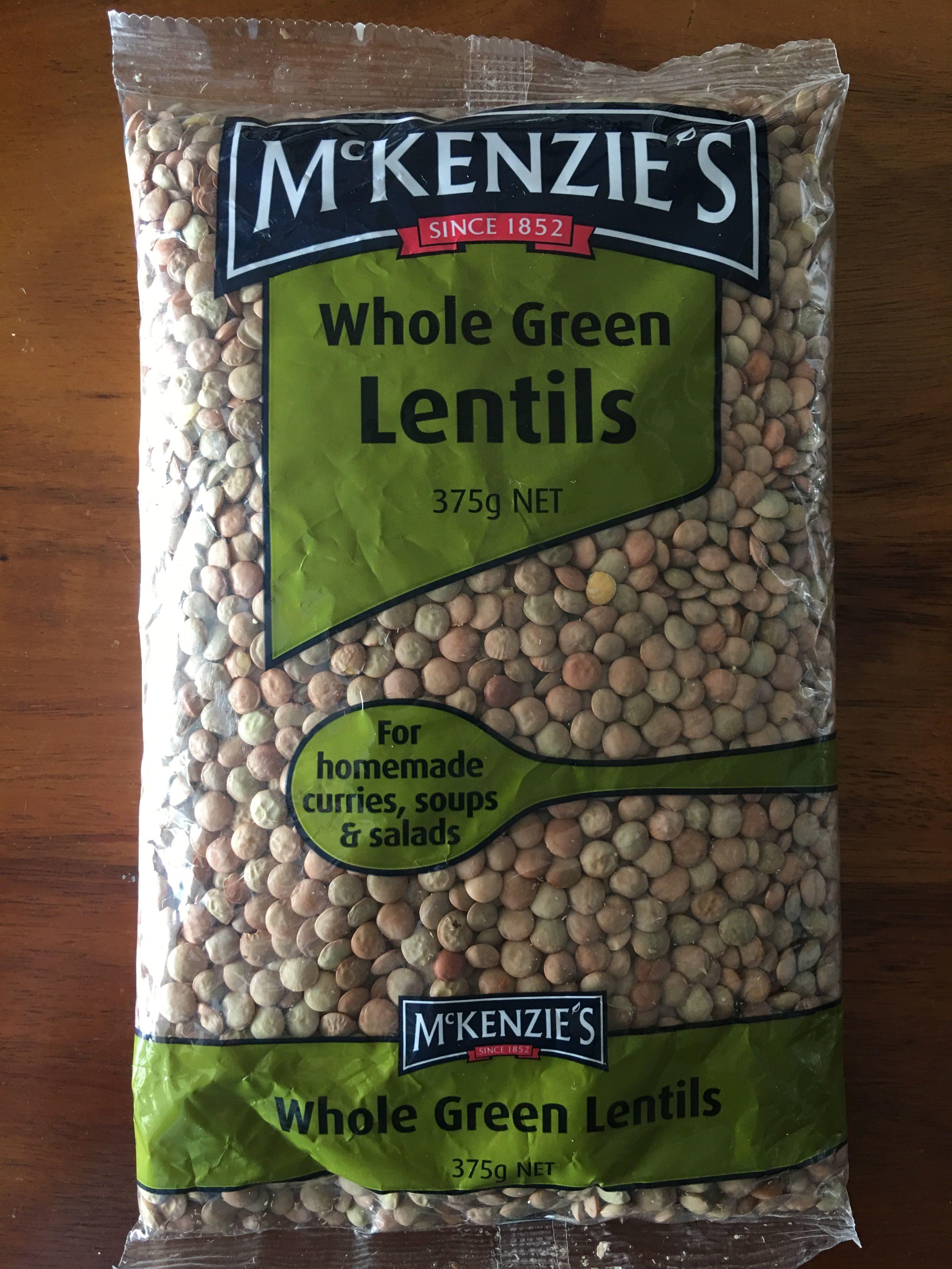 Whole Green Lentils - Sản phẩm