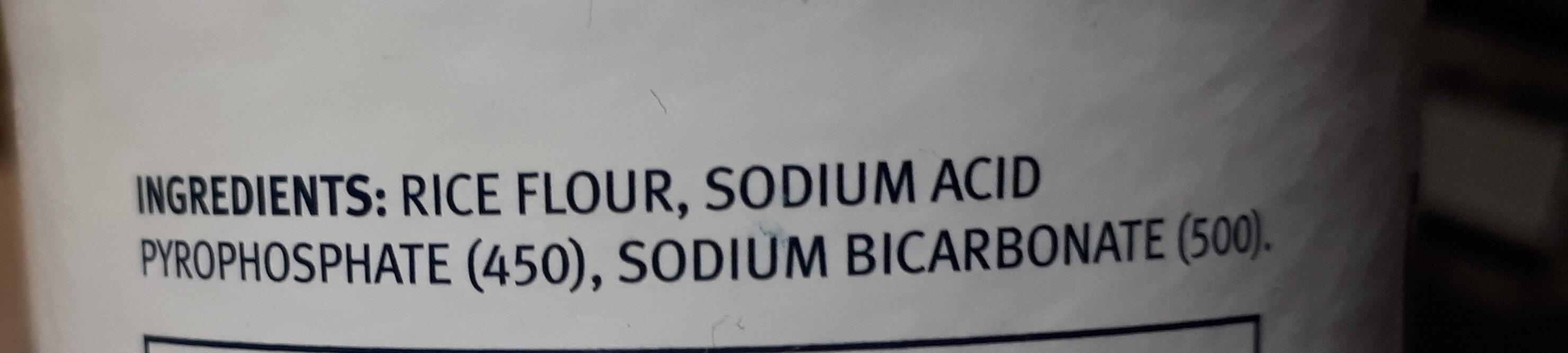 Baking Powder - Ingredients - en
