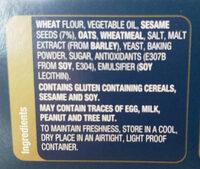 Sesame Wheat - Ingredients - en
