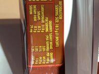 Tim Tam Original Biscuits - Nutrition facts - en