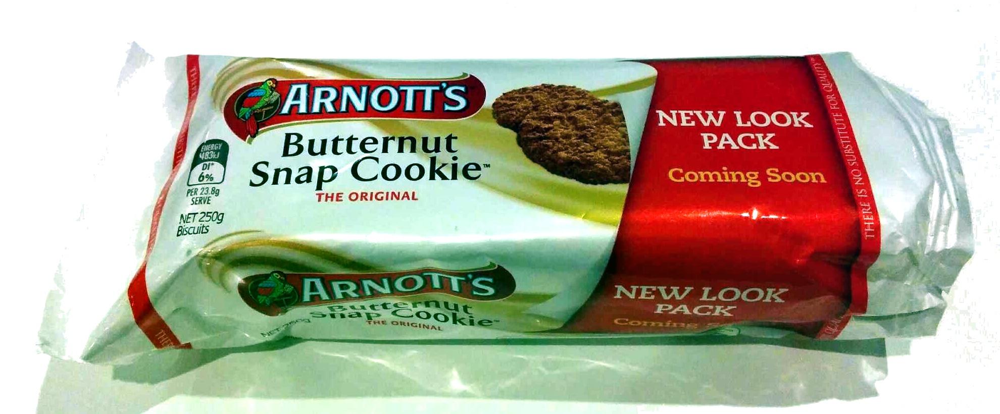 Butternut snap cookie - Produit