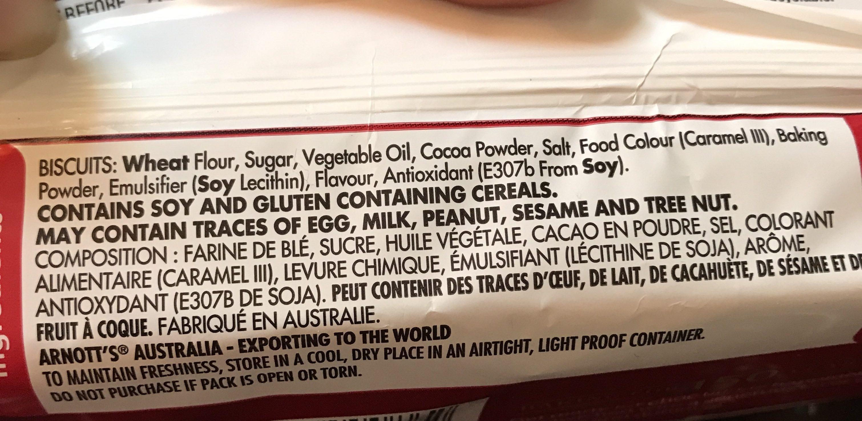 Delta Cream Biscuits - Ingredients - fr