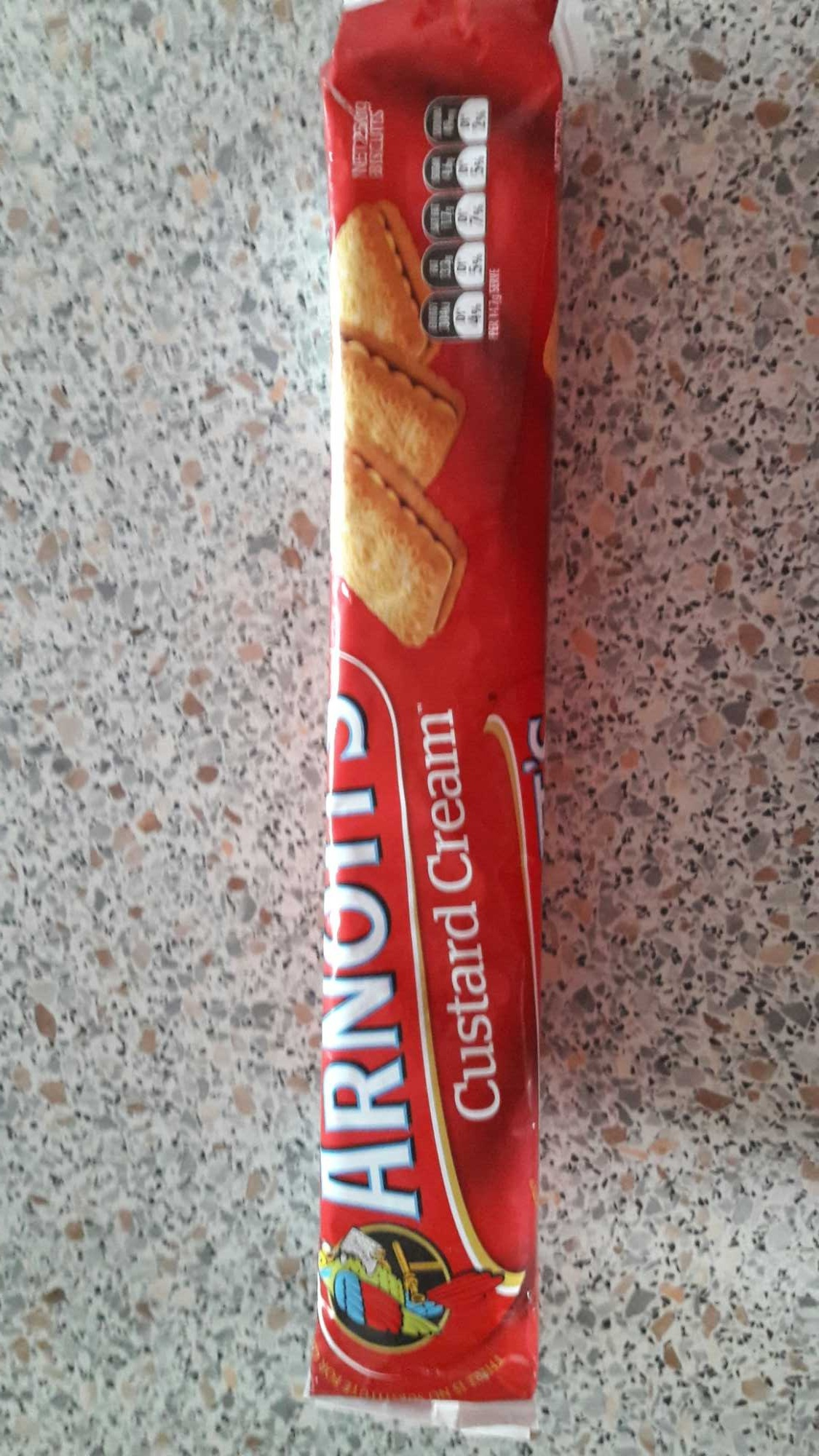 Custard cream - Product