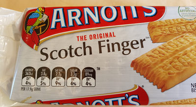 Arnott's Original Scotch Finger Biscuits - Product - fr