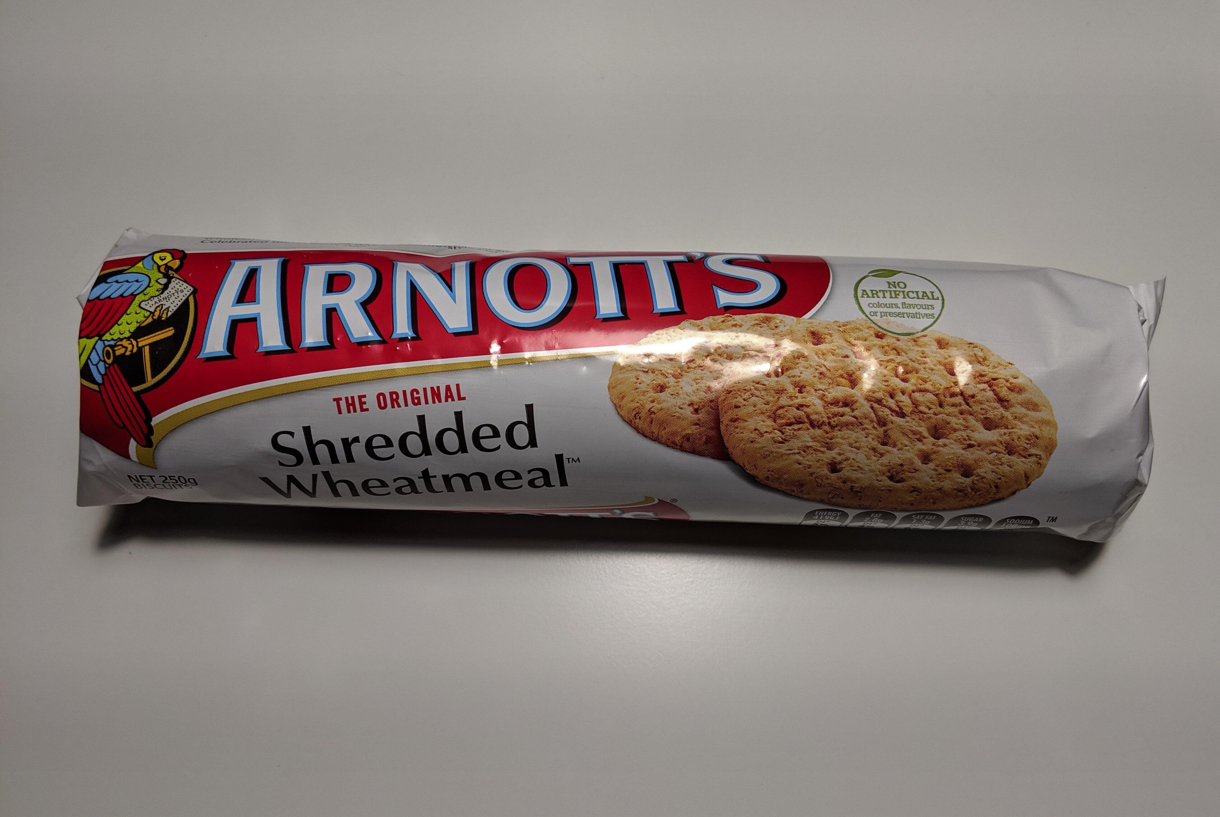 Shredded Wheatmeal - Produit