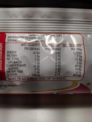 Shredded Wheatmeal - Ingrédients