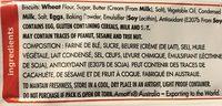 Biscuits Scotch Finger - Ingredients