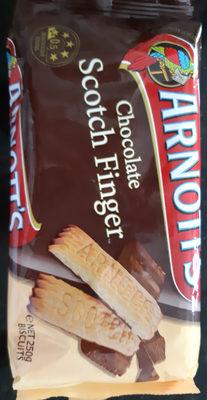 Chocolate Scotch Finger - Product - en