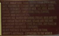Chocolate Scotch Finger - Ingredients - en
