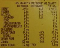 Vita Weat 9 Grains - Nutrition facts - en