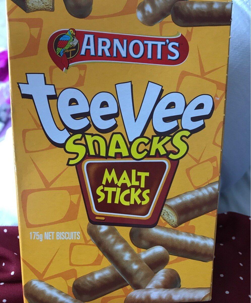 Biscuits Chocolate Teevee Malt Sticks - Product - fr