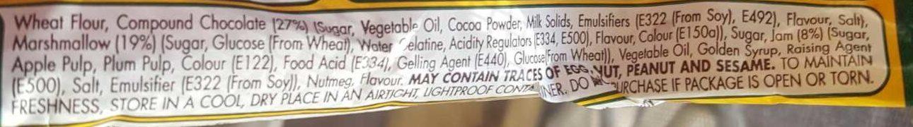 Wagon Wheel - Ingredients - en
