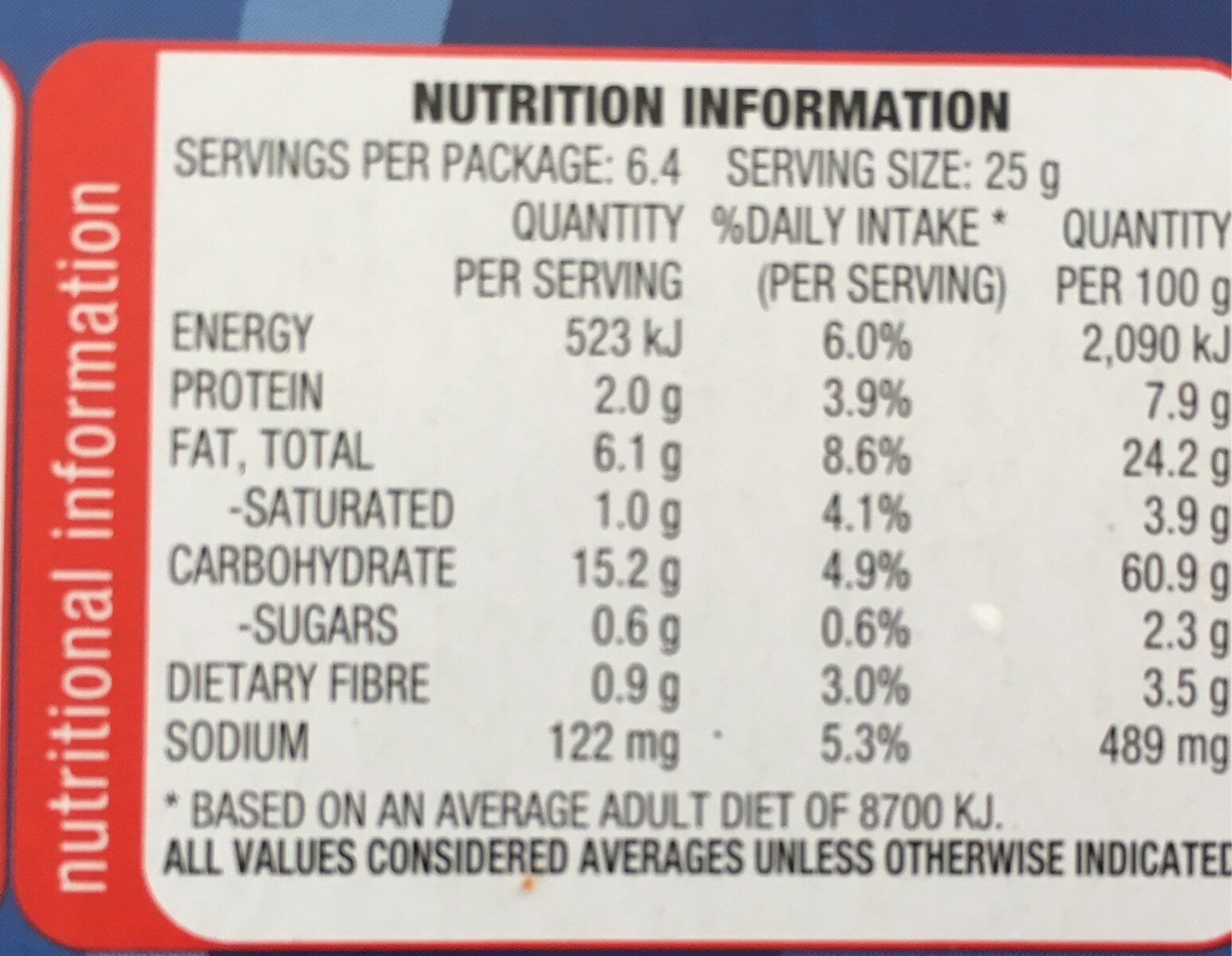 Shapes Nacho Cheese - Nutrition facts - en