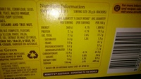 Vita-Weat Multigrain Crackers - Nutrition facts