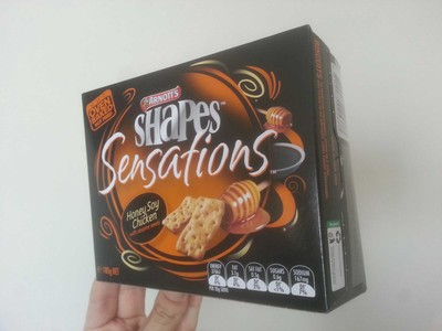 Shapes Sensations Honey Soy Chicken with sesame seeds - 1