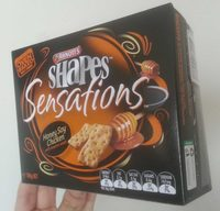 Shapes Sensations Honey Soy Chicken with sesame seeds - Product - en