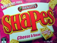 Shapes Cheese & Bacon - Product - en