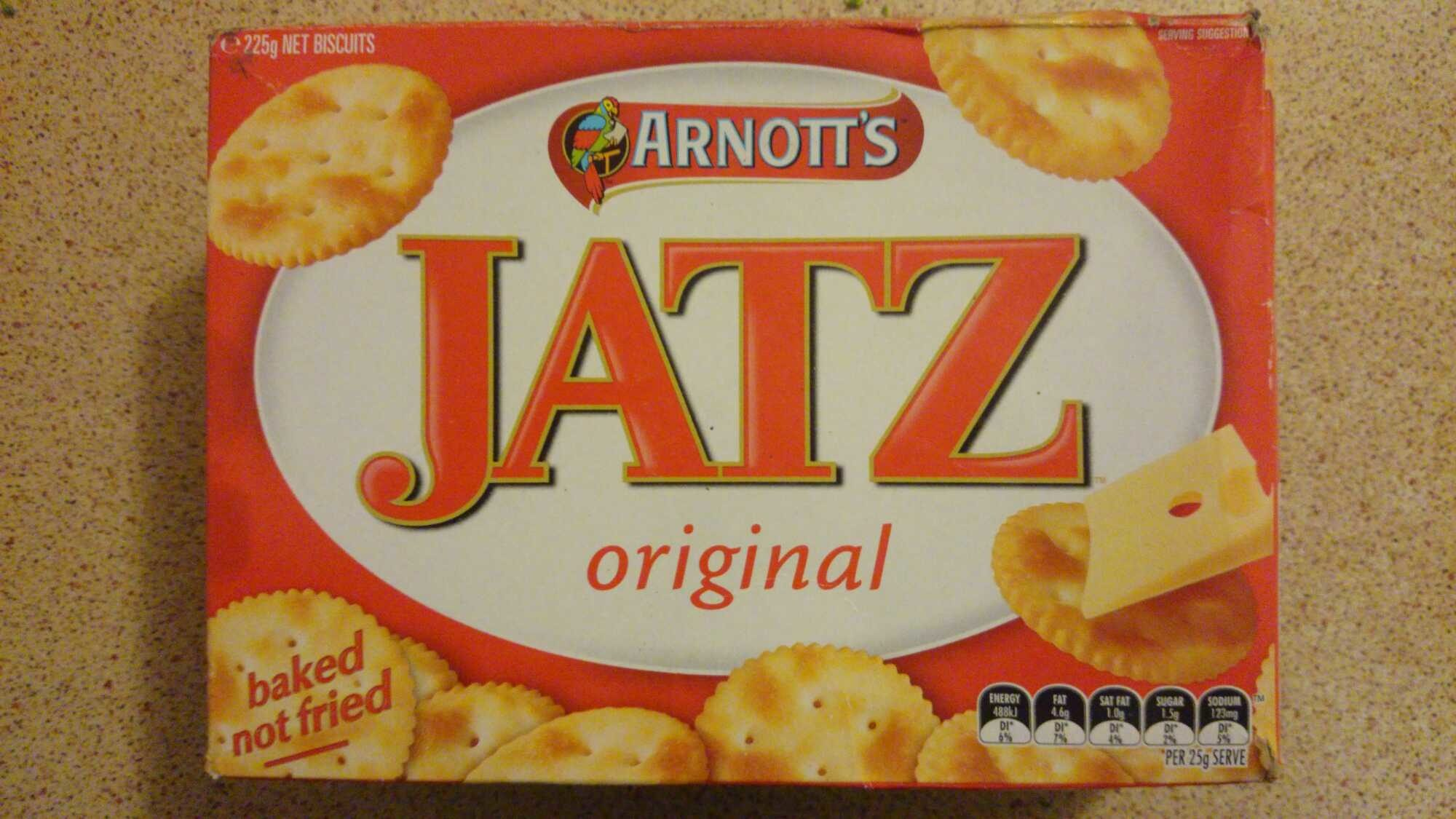 Arnotts Jatz original - Product - en