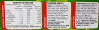 shapes originals - Informations nutritionnelles - fr