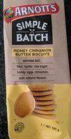 Simple Batch - Honey Cinnamon Butter Biscuits - Produit