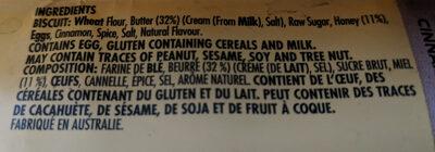 Simple Batch - Honey Cinnamon Butter Biscuits - Ingrédients
