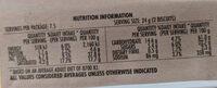 Simple Batch - Honey Cinnamon Butter Biscuits - Informations nutritionnelles