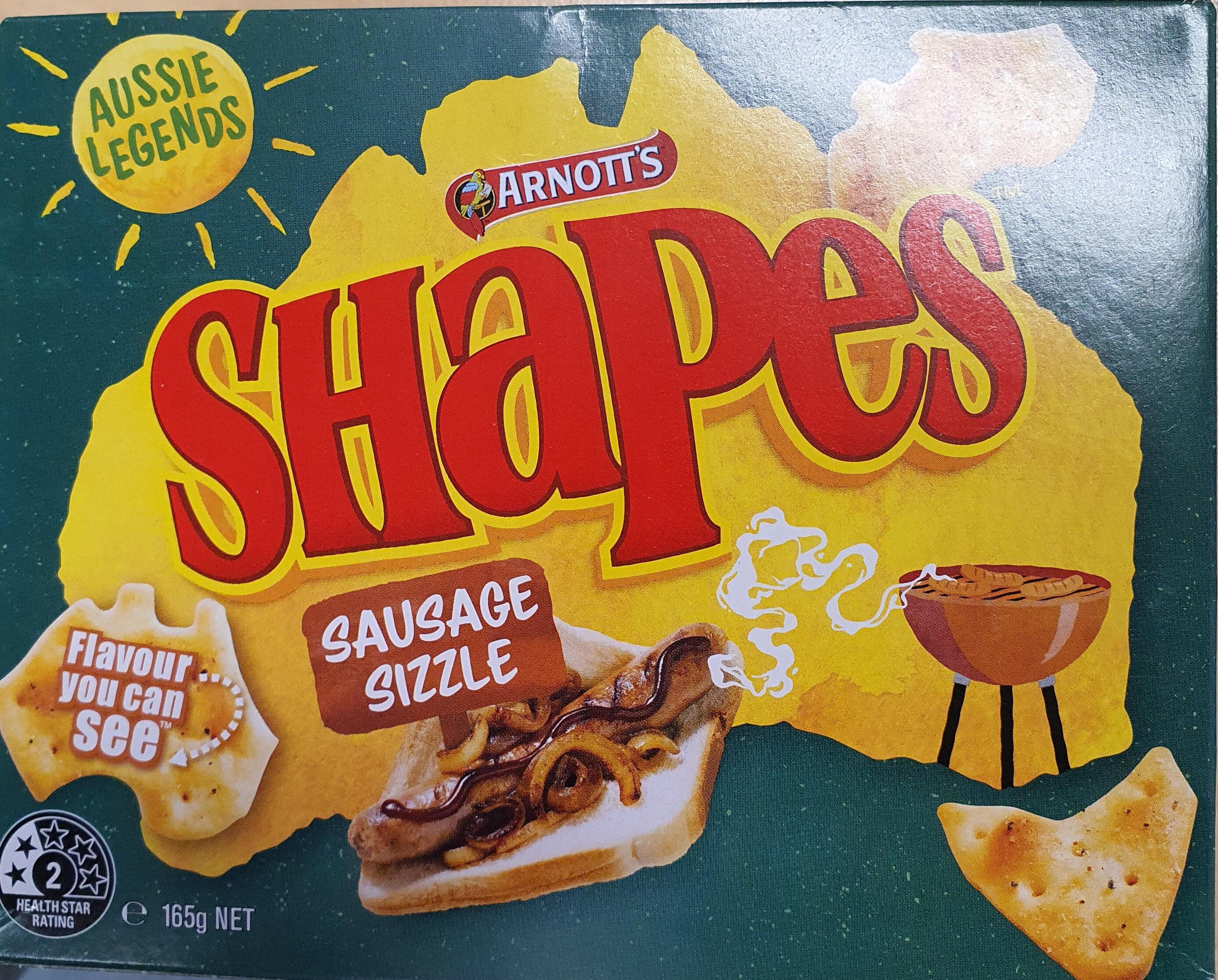 Shapes Sausage Sizzle - Product - en