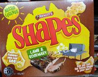 Shapes - Lamb & Rosemary - Product - en